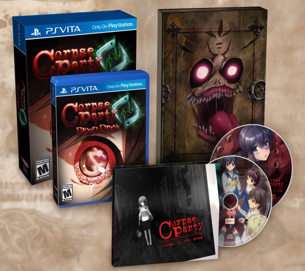 corpse party blood drive LE