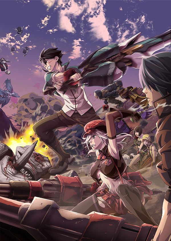 God Eater Key Visual