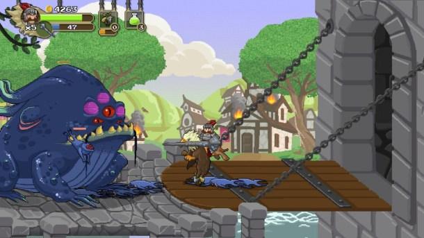 Gryphon Knight Epic | Killer Frog Boss