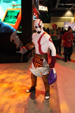Kratos's been watching his figure lately. Still just as angry though.
