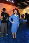 Agent Peggy Carter Scoping out the scene.