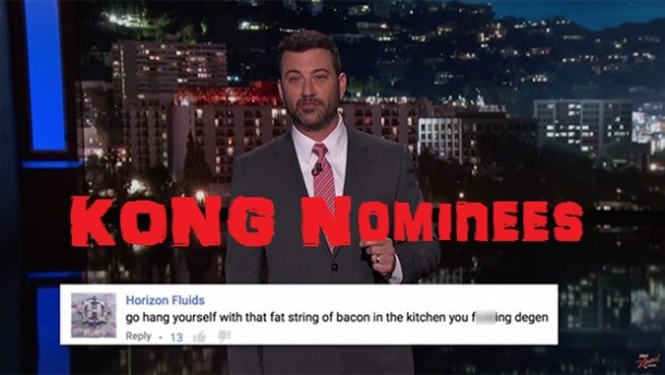 Jimmy Kimmel vs. Video Gamers - King and Kong Nominee