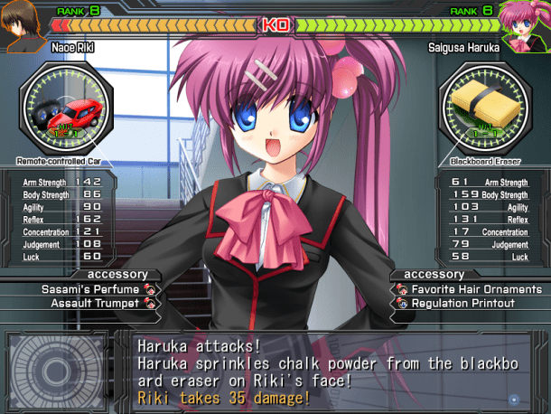 Little Busters | Combat Example
