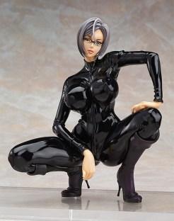 Meiko Shiraki catsuit figure front view