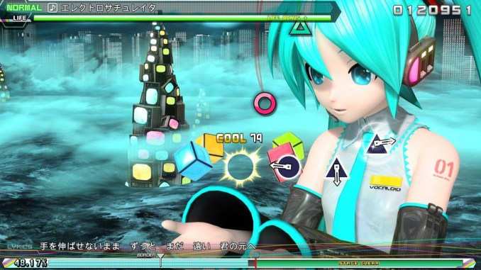 Screencap Project Diva Future Tone