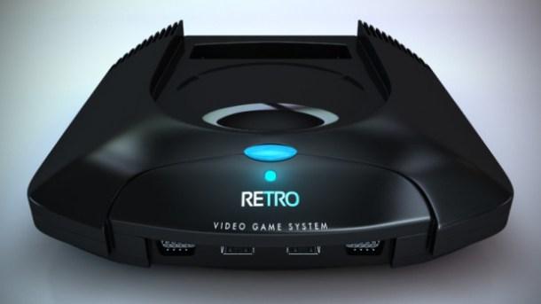 Retro VGS Console