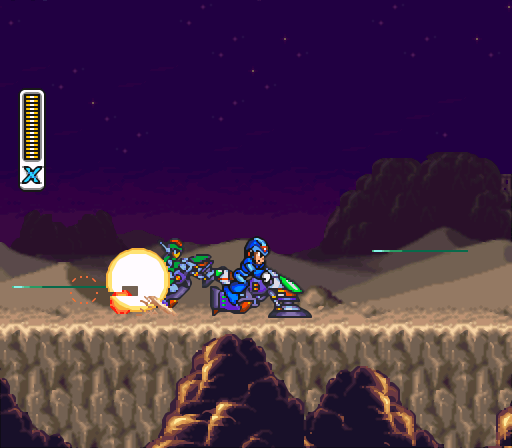 Mega Man X2 | Green Biker