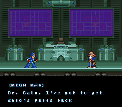 Mega Man X2   Dr. Cain