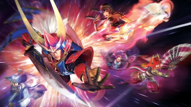 samurai warriors 4-ii | splash