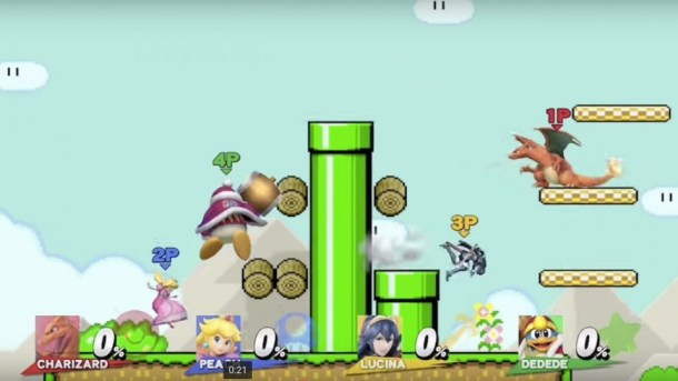 Smash Bros. | Mario Maker level