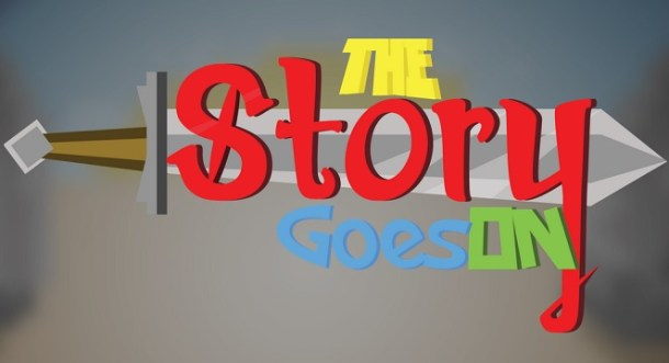 The Story Goes On - Logo