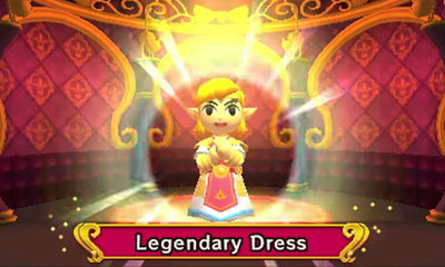 Tri Force Heroes Legendary Dress