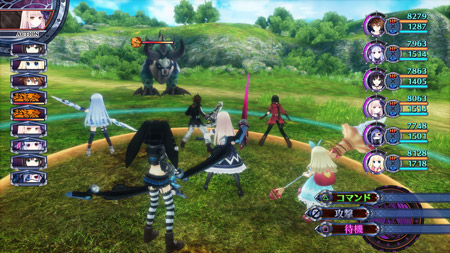 Fairy Fencer F: Advent Dark Force | Battle