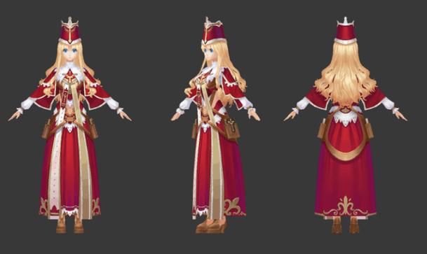 Tears of Avia | Priest Concept Art 2