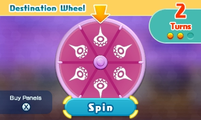 Chibi-Robo Zip Lash | Boss Destination Wheel