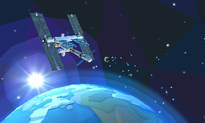 Chibi-Robo Zip Lash | Space Station