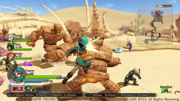 Dragon Quest Heroes | Golems