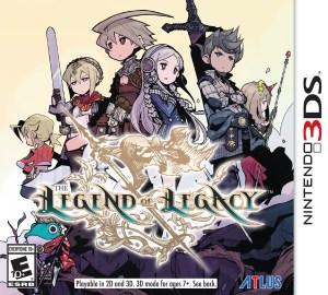 The Legend of Legacy | Logo