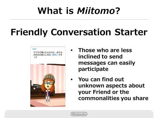 Nintendo Q2 2016 Briefing - Miitomo