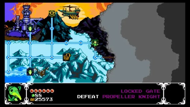 Shovel Knight: Plague of Shadows | Map Screen