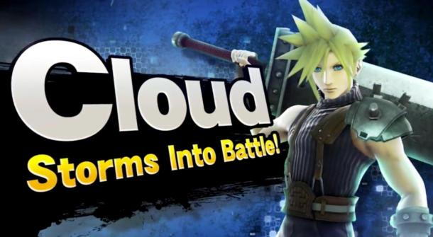 Cloud Storms Into Battle