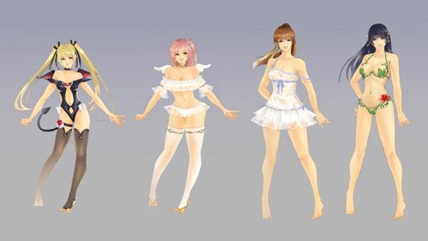 DOA Xtreme 3 - Costumes