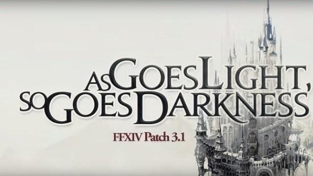 Final Fantasy XIV - Patch 3.1 | Title