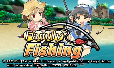 Family Fishing | Title Screen