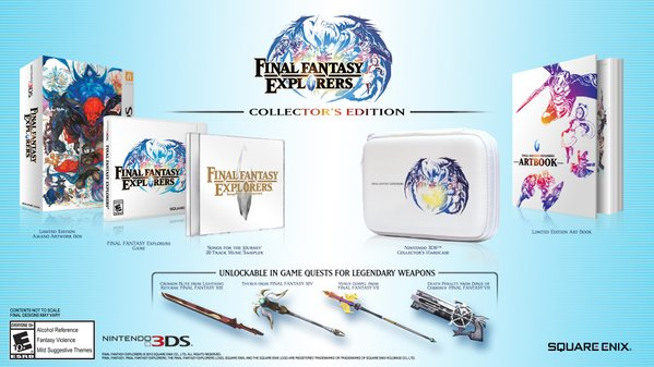 Final Fantasy Explorers - Collector's Edition | oprainfall