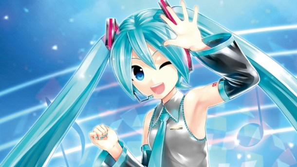Hatsune Miku: Project DIVA X visual