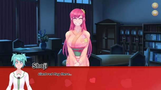 Highschool Romance | Shoji and Principal