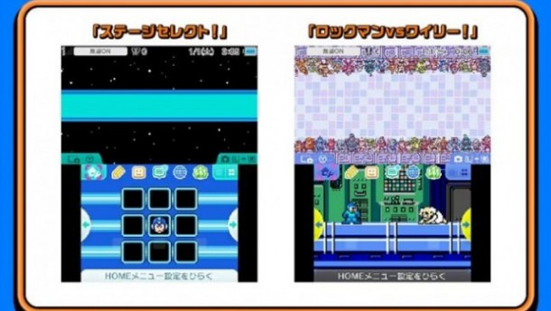 Mega Man Legacy Collection - Themes