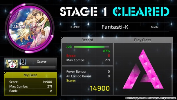 Superbeat Xonic | Stage Clear