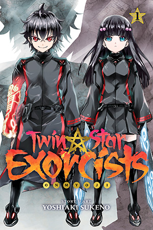 Twin Star Exorcists - Vol. 1 Cover
