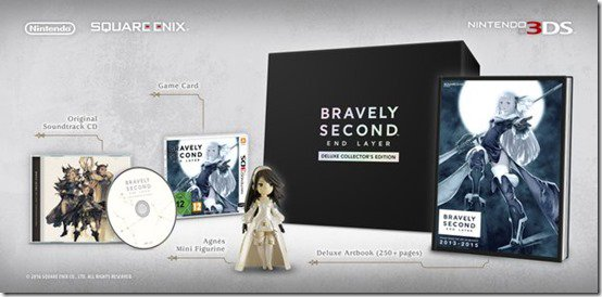 Bravely Second Collector's Edition | oprainfall