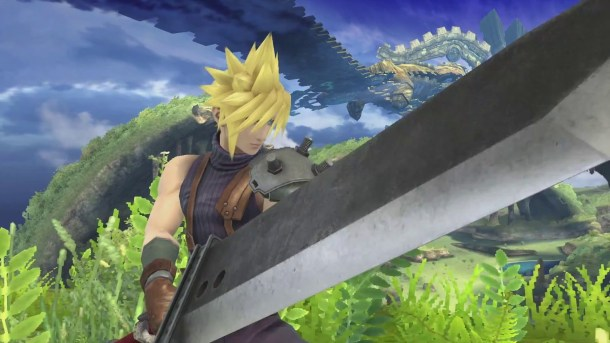 Cloud in Super Smash Bros.