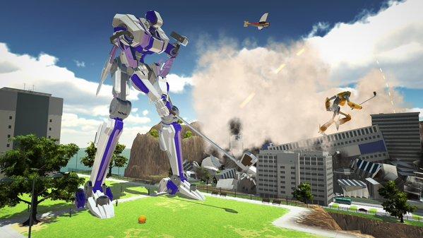 100ft Robot Golf | oprainfall