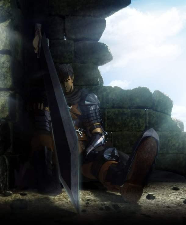 Guts as Black Swordsman