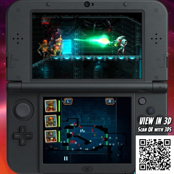 SteamWorld Heist 3DS - Showdown