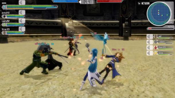 Sword Art Online: Lost Song   Multiplayer Arena