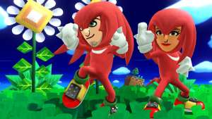Knuckles Mii Fighter Costume - Super Smash Bros. for Wii U and 3DS