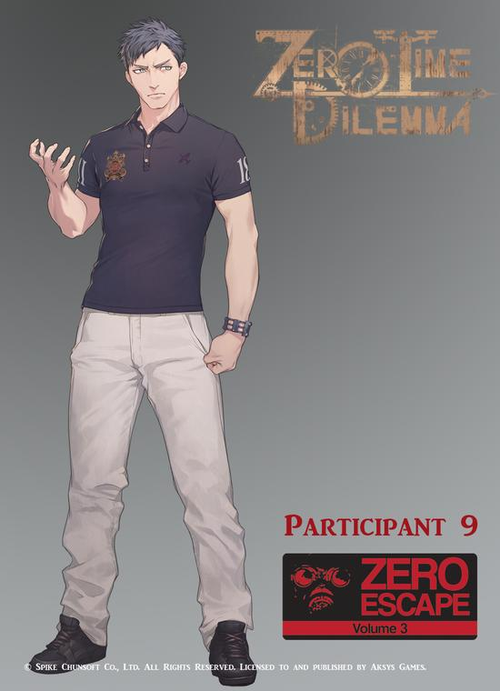Zero Escape | Character art