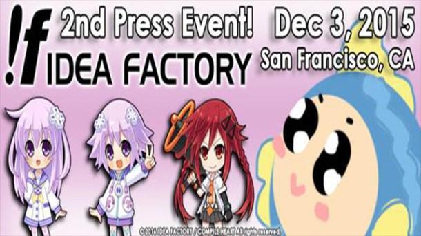 Idea Factory - Press Event   oprainfall