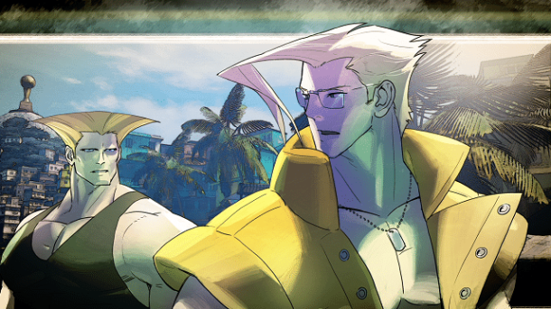 Street Fighter V  Guile and Nash Feature