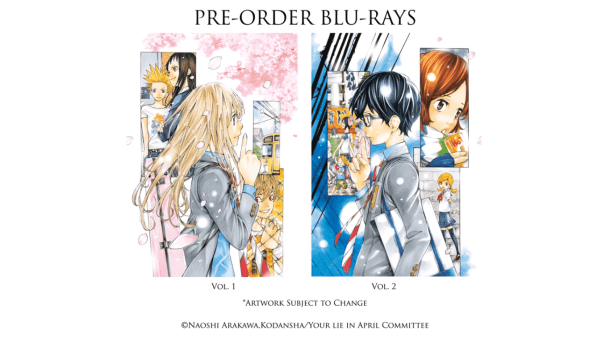 Your Lie in April | Blu-ray Covers