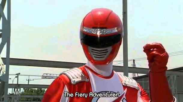 Super Sentai | Bouken Red
