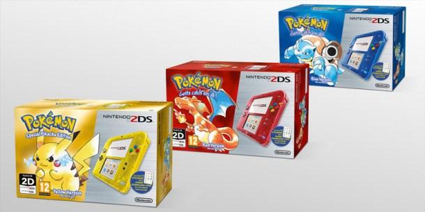 Pokémon 2DS Bundles
