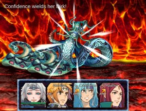 Pale Echoes | Battle Screen