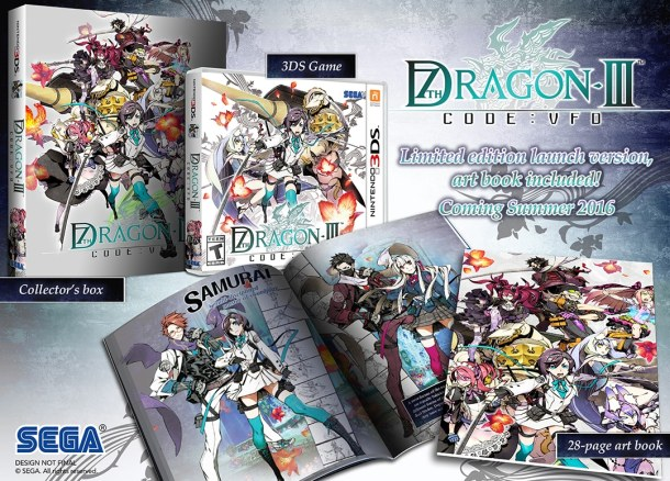 7th Dragon III: Code VFD | Collector's Box