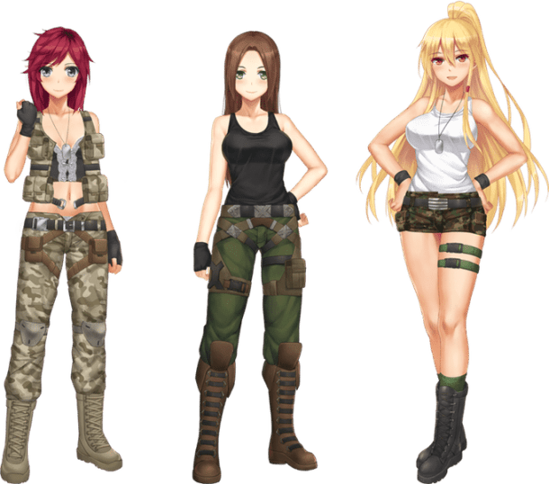 Dharker Studio Battle Girls